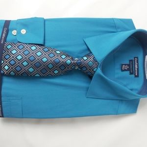 Croft&Barrow Dress Shirt with Handcrafted Tie NWT